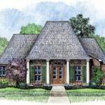 Acadian Style Bedroom House Plan Plans Floor