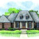 Acadian Style Home House Plans Floor Plan