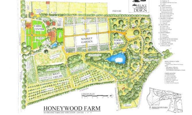 Acre Farm Layout Plans Architecture