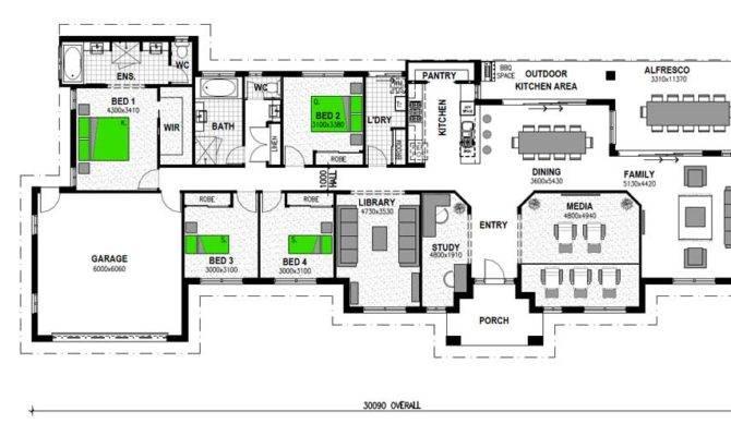 Acreage Home Floor Plans Australia Vermilion Bed