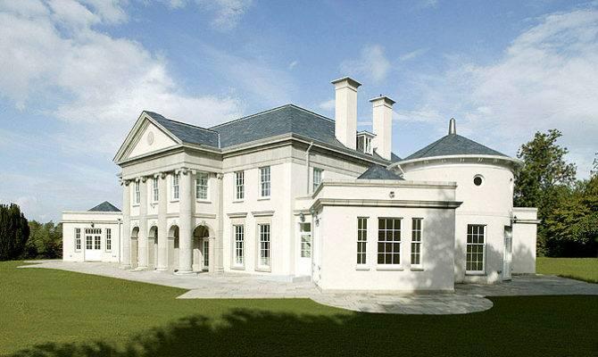 Adam Architecture Palladian Villa Sussex Interior
