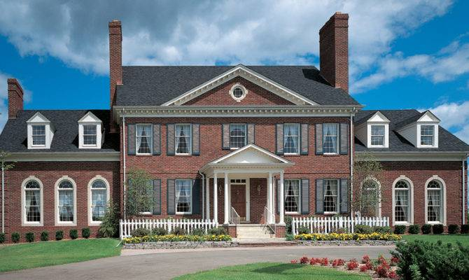 Adam Federal House Plans Designs