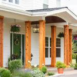 Adding Cedar Pillars Our Dream House Lulu Baker