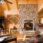 Adding Fireplace Log Home Neighborhood