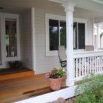 Adding Porch House Before After Joy Studio Design