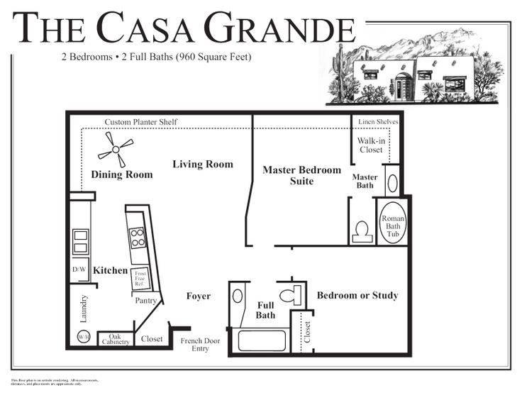 Adobe House Floor Plans Small Homesplas