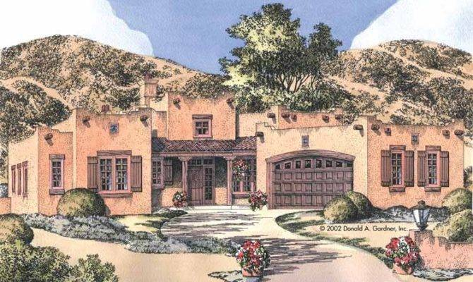 Adobe House Plans Dream Home Source Style