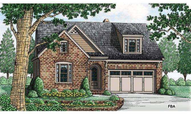 Adorable Brick Cottage Hwbdo Builderhouseplans