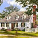 Adorable Cape Cod Home Plan Architectural