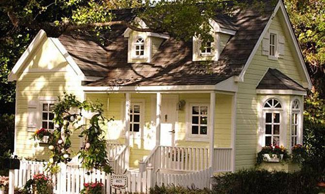 Adorable Cottages Porches Gardens