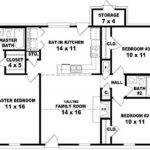 Affordable Bedroom Bath House Plan Design