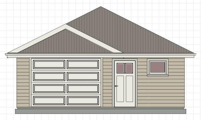 Affordable Garage Plan Blueprint House