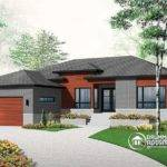 Affordable Ranch Bungalow Home Office Open Floor Plan