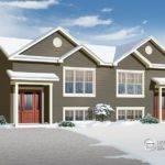 Affordable Semi Detached Drummond House Plans Blog
