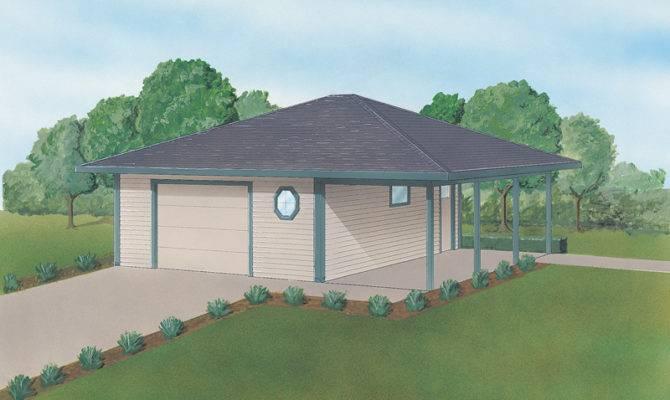 Agnes Garage Carport Plan House Plans More
