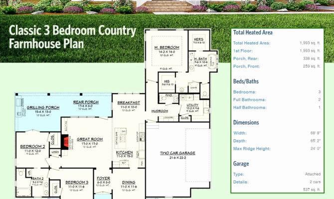 Alberta Back Split House Plans