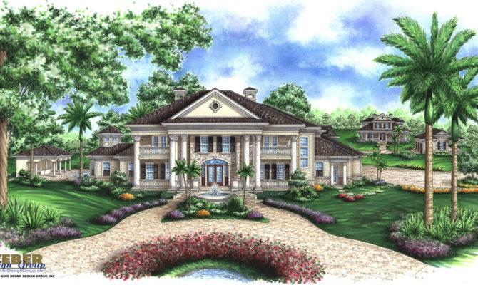 Alexandria House Plan Georgian Weber Design Group