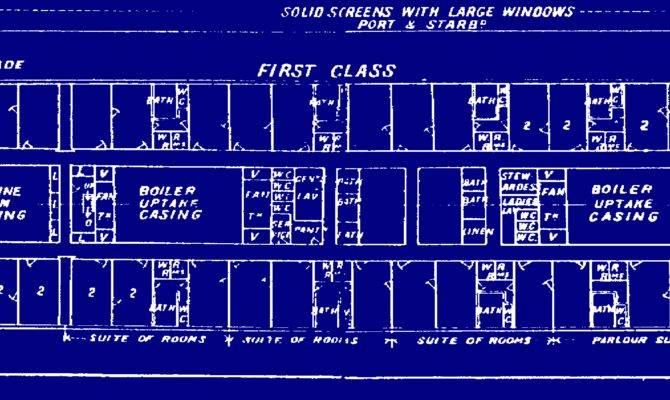 All Things Titanic Blueprints