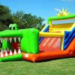 Alligator Combo Bounce House Slide Combination All