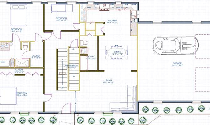 Allows Spacious Rooms Open Spaces Throughout Floor Plan