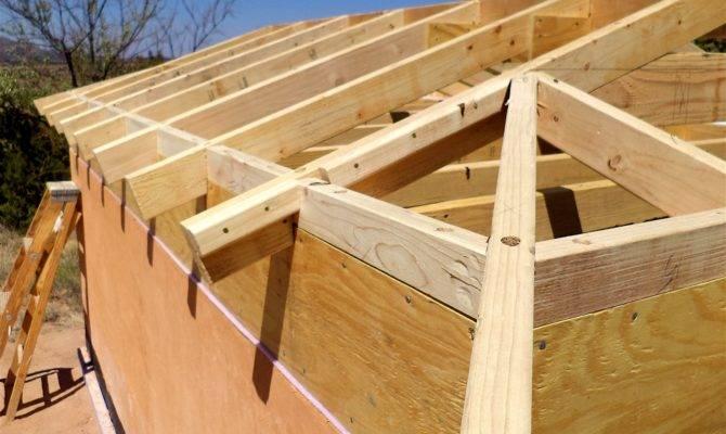 Alt Build Blog Building Well House Framing Hip