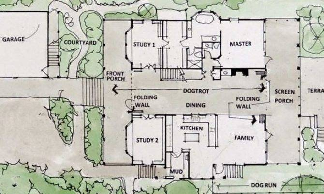 Amazing Dogtrot House Plans Modern New Home Design