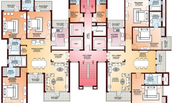 Amazing Finest Floor Plans Apartments Penthouses Villa
