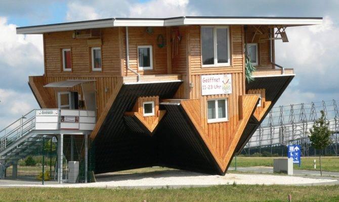 Amazing House Germany Upside Down