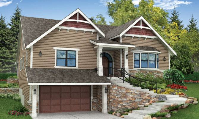 Amazing House Plans Sloping Lots Front Sloped Lot