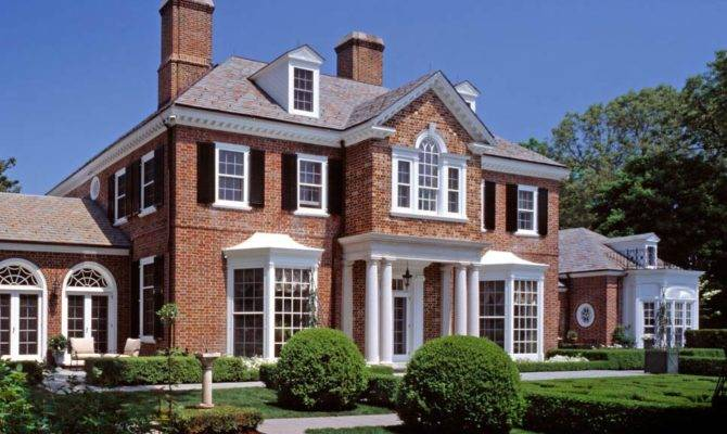American Brick Georgian Renovations Charles Hilton