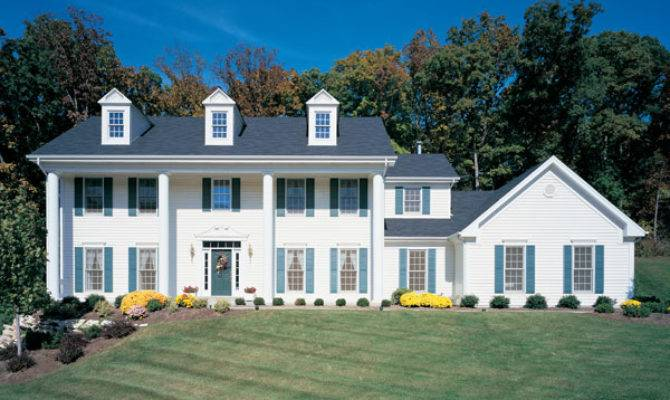American Colonial Homes History House Plans More