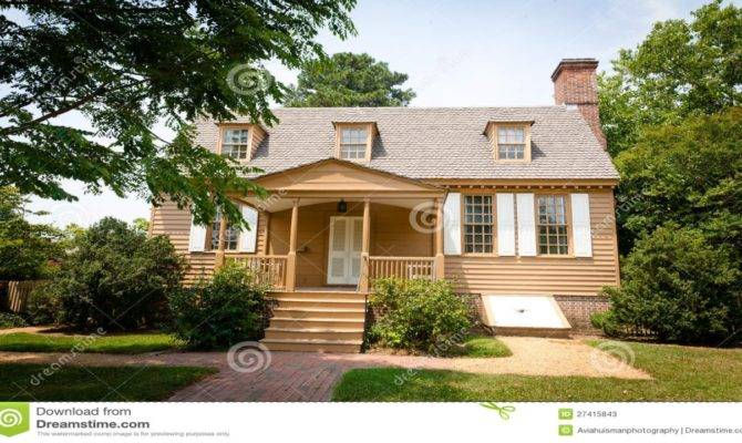 American Colonial Interiors Home
