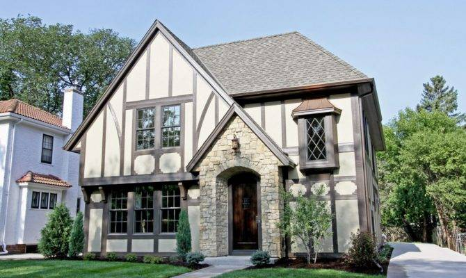 American Iconic Tudor Design Style Reminiscent Medieval