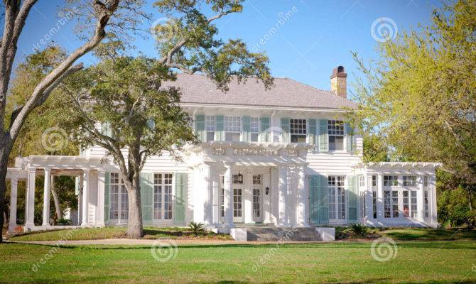 American Southern Style Mansion