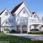 American Style House Kerala Home Design