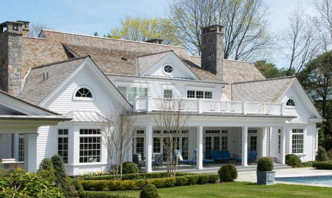 American Summer Home Traditional Exterior New York