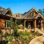 Amicalola Rustic Mountain House Plan Custom Home Building