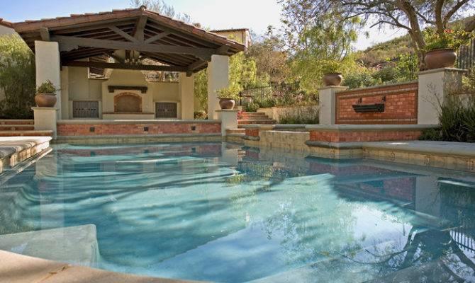 Ams Landscape Design Studios Mediterranean Pool Los