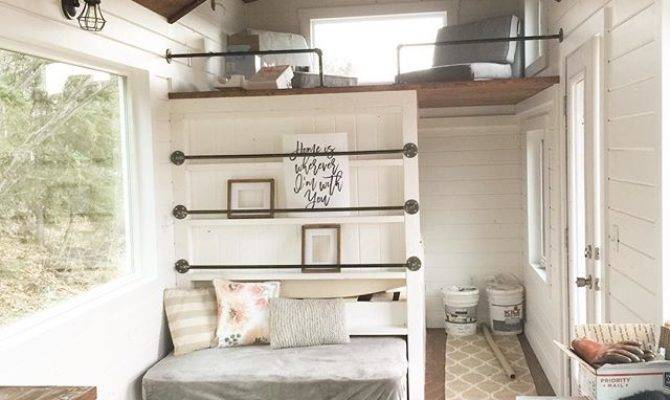 Ana White Tiny House Loft Bedroom Guest Bed