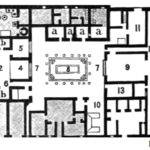 Ancient Roman House Layout