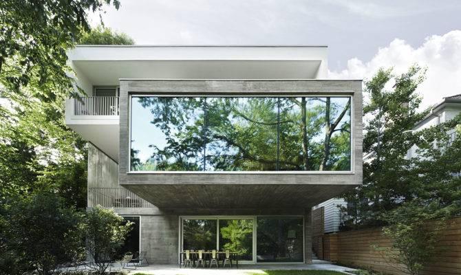 Angela Tsementzis Canadian Concrete House