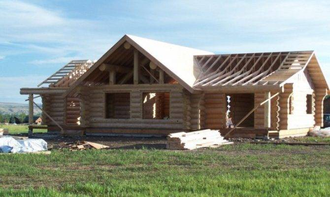 Another Handcrafted Log Home Shell Cowboy Homes