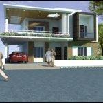 Antique Duplex House Design Small