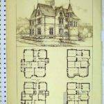 Antique Home Floor Plans Luxury Vintage Victorian House