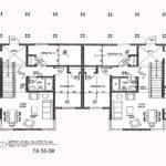 Apartment Blueprints Floor Duplex House Plans