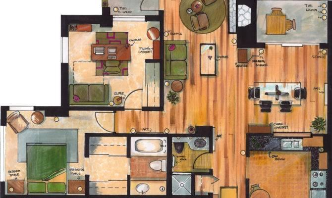 Apartment Floor Plan Phadinah Deviantart