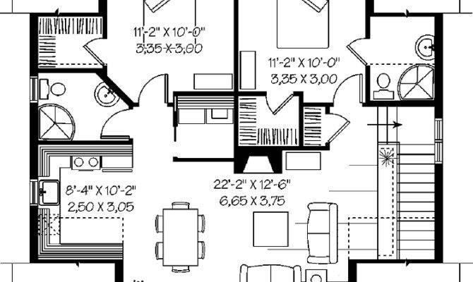 Apartment Garage Plans Cars Floor
