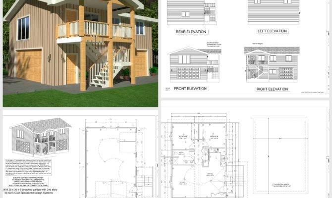Apartment Garage Plans Sds