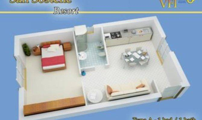 Apartment Layout Type Bedroom Bathroom
