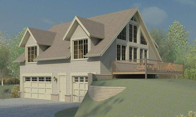 Apartment Plans Garage Plan Doubles Vacation Home